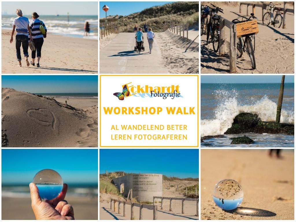 workshopwalk op het strand