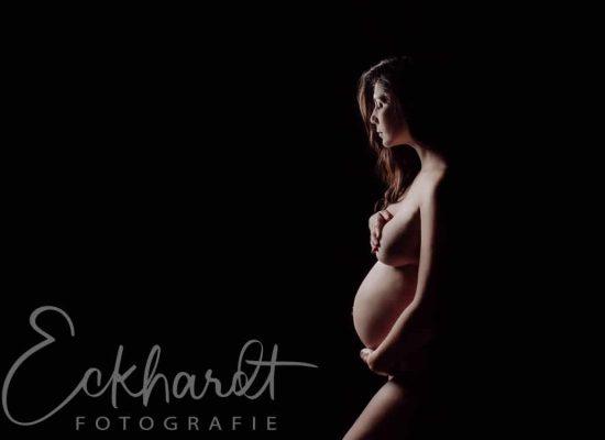 artistieke zwangerschapsshoot