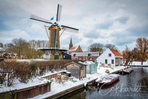 Erfgoed Loosduinen in de sneeuw